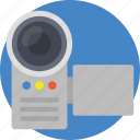 camcorder, camera, digital video, handycam, video recorder icon