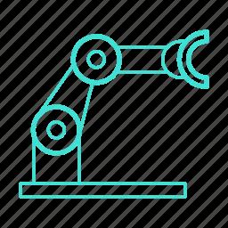 arm, automated, controller, industrial, remote, robotics icon