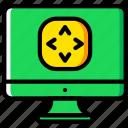 controls, reality, virtual, vr icon