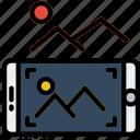 picture, reality, take, virtual, vr icon