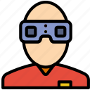 headset, reality, virtual, vr icon