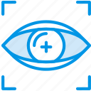 reality, retina, scan, virtual, vr icon
