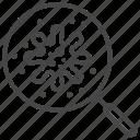 bacteria, lab, microorganism, research, virology, virus icon