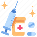injection, medical, medicine, needle, syringe, treatment, vaccine