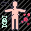 body, check, coronavirus, flu, infection, scan, virus icon