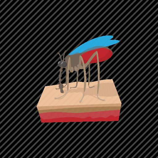 cartoon, disease, illustration, insect, mosquito, parasite, zik icon
