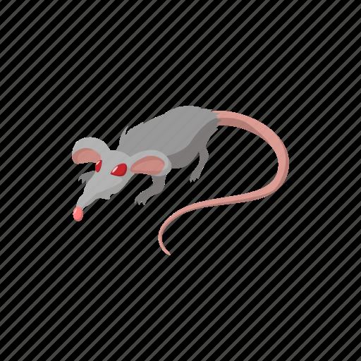 animal, cartoon, disease, infection, pest, rat, rodent icon