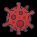 bacteria, bug, corona, coronavirus, protection, security, virus icon