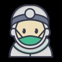 clinic, corona, coronavirus, doctor, healthcare, hospital, medical icon