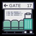 bag, gate, holiday, luggage, transport, corona, coronavirus
