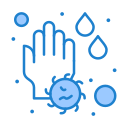 drop, hand, soap, wash, water icon