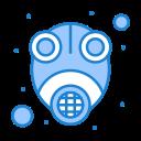 epidemic, gas, mask, protect, virus icon