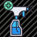 clean, disfection, disinfection, hygiene, spray