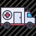 ambulance, car, emergency, hospital, truck