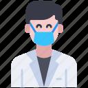 avatar, doctor, man, medical, profession