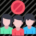avoid, crowd, crowds, group, people