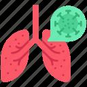 corona, lungs, medical, transmission, virus