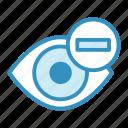 eye, medical, minus, optometry, vision