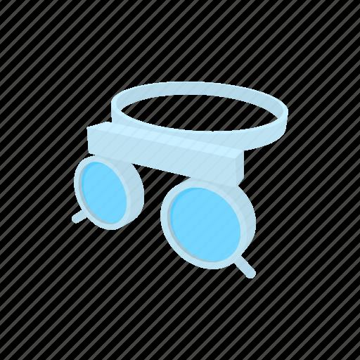 cartoon, eye, eyesight, frame, optometrist, test, trial icon