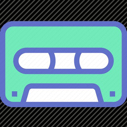 audio, cassette, music, record, video icon