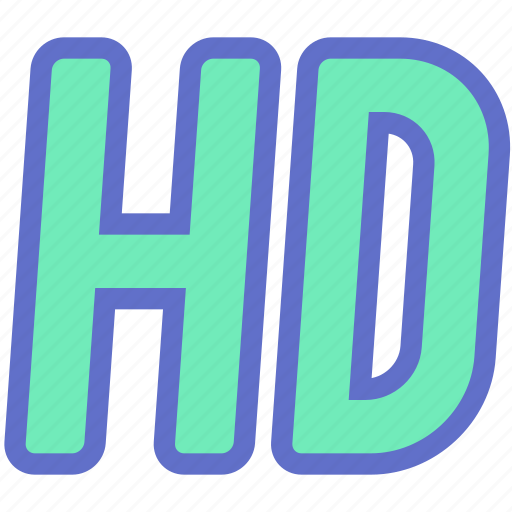 film, hd, high quality, high-definition, movie, quality, video icon