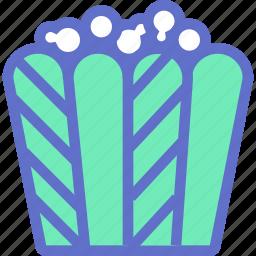 cinema, corn, fastfood, film, popcorn icon