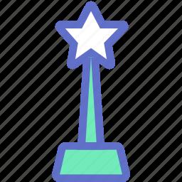 best, excellent, favorite, prize, reward, star, winner icon