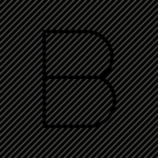 b, healthy, letter, vitamin, vitamin b icon