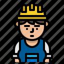 avatar, carpenter, character, vocation icon