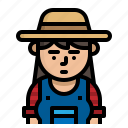 avatar, character, farmer, vocation icon