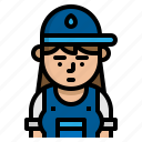 avatar, character, plumber, vocation icon