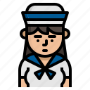 avatar, character, sailor, vocation icon