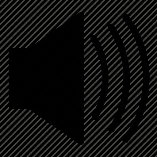 control, increase, loud, music, musical, speaker, volume icon