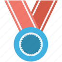 award, medal, position medal, reward, winner icon