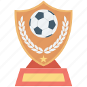 football champion, football trophy, football winner, soccer trophy, sports trophy icon