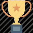 award, prize, trophy, trophy cup, winner
