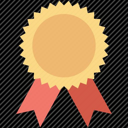 award, award badge, badge, reward, ribbon badge icon