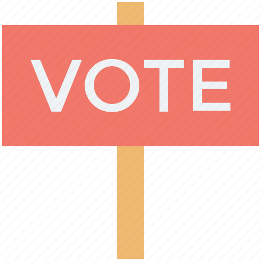 elections, referendum, survey, vote, voting poll icon