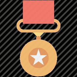badge, emblem, military badge, rank, star badge icon