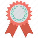 award, award badge, badge, reward, ribbon badge icon