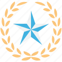favorite, five pointed, ranking, star icon