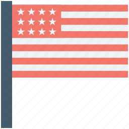 america flag, ensign, flag, united states, usa flag icon