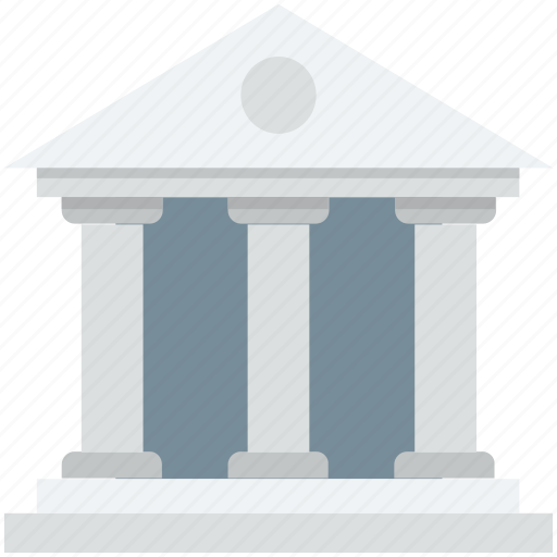 architecture, bank, bank building, building, real estate icon