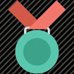 award, medal, position medal, reward, winner icon