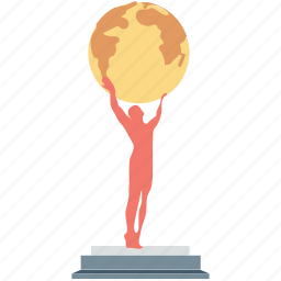 award, prize, trophy, world award, world cup icon