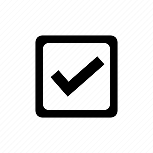 approved, check, checkbox, confirm icon