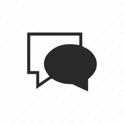 chat, comment, communication, message icon