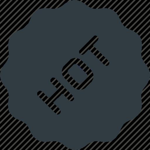 awward, badge, hot, reward, sticker icon
