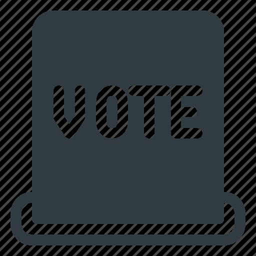 Awward, hole, reward, ticket, vote, voting icon - Download on Iconfinder