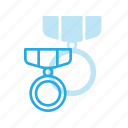 awward, badge, medal, reward, win, winner icon